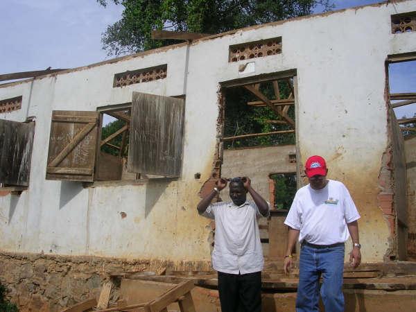 Kayenje School Before